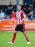 Lincoln City's Jason Shackell<br /> <br /> Photographer Chris Vaughan/CameraSport<br /> <br /> Football Pre-Season Friendly (Community Festival of Lincolnshire) - Gainsborough Trinity v Lincoln City - Saturday 6th July 2019 - The Martin & Co Arena - Gainsborough<br /> <br /> World Copyright © 2018 CameraSport. All rights reserved. 43 Linden Ave. Countesthorpe. Leicester. England. LE8 5PG - Tel: +44 (0) 116 277 4147 - admin@camerasport.com - www.camerasport.com