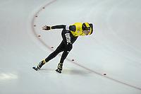 SCHAATSEN: HEERENVEEN: 25-10-2014, IJsstadion Thialf, Trainingswedstrijd schaatsen, Roxanne van Hemert, ©foto Martin de Jong