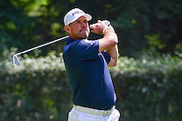 Lee Westwood (GBR) watches his tee shot on 3 during round 4 of the World Golf Championships, Mexico, Club De Golf Chapultepec, Mexico City, Mexico. 3/5/2017.<br /> Picture: Golffile | Ken Murray<br /> <br /> <br /> All photo usage must carry mandatory copyright credit (&copy; Golffile | Ken Murray)