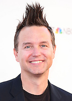 UNIVERSAL CITY, CA, USA - SEPTEMBER 30: Mark Hoppus arrives at LA's Promise Gala 2014 held at the Globe Theatre at Universal Studios on September 30, 2014 in Universal City, California, United States. (Photo by Xavier Collin/Celebrity Monitor)