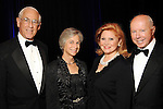 From left: Dr. John Mendelsohn and his wife Anne with Jan and Dan Duncan at the Denton A. Cooley Leadership Award Dinner benefitting Texas Heart Institute at the Hilton American Houston Wednesday Feb. 03,2010.(Dave Rossman Photo)