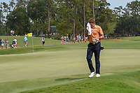 Ian Poulter (GBR) towels off as he heads to 16 during round 3 of The Players Championship, TPC Sawgrass, at Ponte Vedra, Florida, USA. 5/12/2018.<br /> Picture: Golffile | Ken Murray<br /> <br /> <br /> All photo usage must carry mandatory copyright credit (&copy; Golffile | Ken Murray)