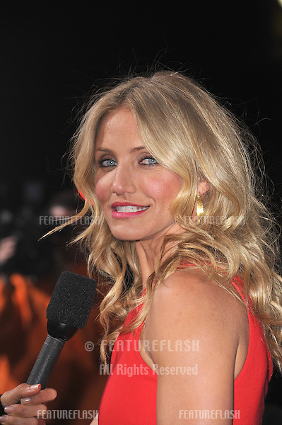 "Cameron Diaz at the Los Angeles premiere of her new movie ""The Green Hornet"" at Grauman's Chinese Theatre, Hollywood..January 10, 2011  Los Angeles, CA.Picture: Paul Smith / Featureflash"