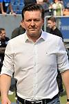 Christian Titz (Trainer, Hamburger SV)  beim Spiel in der Fussball Bundesliga, TSG 1899 Hoffenheim - Hamburger SV.<br /> <br /> Foto &copy; PIX-Sportfotos *** Foto ist honorarpflichtig! *** Auf Anfrage in hoeherer Qualitaet/Aufloesung. Belegexemplar erbeten. Veroeffentlichung ausschliesslich fuer journalistisch-publizistische Zwecke. For editorial use only.
