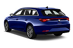 Car pictures of rear three quarter view of 2020 Seat Leon Xcellence 5 Door Wagon Angular Rear