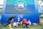 HKFC Citibank Juniors Soccers Sevens during day two of the HKFC Citibank Soccer Sevens 2015 on May 30, 2015 at the Hong Kong Football Club in Hong Kong, China. Photo by Xaume Olleros / Power Sport Images
