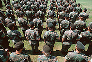 Special Force, April 1982. Ceremony for the 30th Anniversary of the Special Force, millitary parade at Fort Devens, MA.