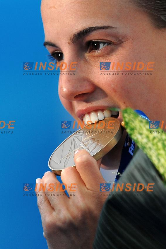 Roma 21th July 2009 - 13th Fina World Championships From 17th to 2nd August 2009.3M Springboard Tuffi Women Final.Tania Cagnotto Bronze medal - Medaglia di Bronzo.photo: Roma2009.com/InsideFoto/SeaSee.com .Foto Andrea Staccioli Insidefoto