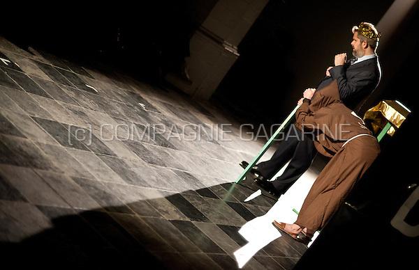 Theatre company de Dijlezonen playing Don Carloz from Mauritz Kelchtermans, directed by Mauritz Kelchtermans (Belgium, 03/03/2015)