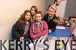 Students from Tarbert Comprehensive.  Paulina Wojtusiki, Rebecca Buckley, Laura Mullally, Natasha Lynch pictured at the IT Tralee Open day on Friday