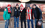 Sheffield Utd fans during the Championship match at Bramall Lane Stadium, Sheffield. Picture date 26th December 2017. Picture credit should read: Simon Bellis/Sportimage