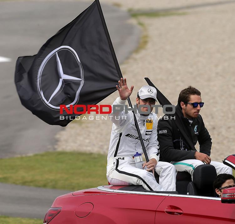DTM 2015, 01.Lauf Hockenheimring, 01.05. - 03.05.15 <br /> Maximilian G&ouml;tz (DEU#84) Petronas Mercedes-AMG C-Coup&eacute;, Daniel Juncadella (ESP#12) Petronas Mercedes-AMG C-Coup&eacute; <br /> <br /> <br /> <br /> Foto &copy; nordphoto /  Bratic