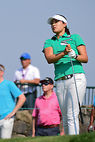 In Gee Chun (KOR) watches her tee shot on 16 during Thursday's first round of the 72nd U.S. Women's Open Championship, at Trump National Golf Club, Bedminster, New Jersey. 7/13/2017.<br /> Picture: Golffile | Ken Murray<br /> <br /> <br /> All photo usage must carry mandatory copyright credit (&copy; Golffile | Ken Murray)