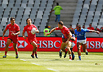 Justin Douglas, Day 1 at Cape Town Stadium duirng the HSBC World Rugby Sevens Series 2017/2018, Cape Town 7s 2017- Photo Martin Seras Lima
