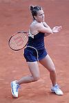 Barbara Strycova, Czech Republic, during Madrid Open Tennis 2016 match.May, 2, 2016.(ALTERPHOTOS/Acero)