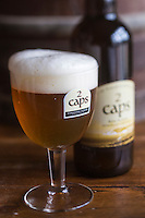 France, Pas-de-Calais (62), Côte d'Opale,Tardinghen:  Brasserie artisanale des 2 Caps - La 2 Caps, Bière blonde de dégustation // France, Pas de Calais, Opal Coast, Tardinghen: Craft brewery, Brasserie artisanale des 2 Caps