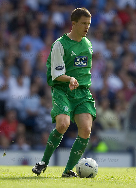Gary Caldwell, Hibs.stock season 2004-2005.pic willie vass