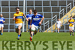 Brian O'Donoghue Glenflesk and John Spillane Templenoe in action during the Intermediate Championship semi final in Fitzgerald Stadium on Sunday