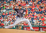 11 September 2016: Washington Nationals pitcher Koda Glover on the mound against the Philadelphia Phillies at Nationals Park in Washington, DC. The Nationals edged out the Phillies 3-2 to take the rubber match of their 3-game series. Mandatory Credit: Ed Wolfstein Photo *** RAW (NEF) Image File Available ***
