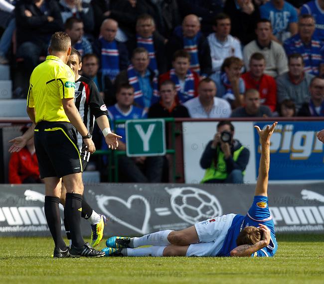 Dorin Goian down with an injury
