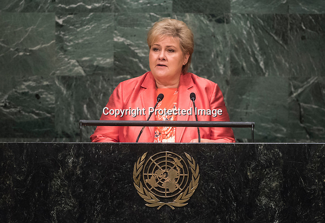Statement by Her Excellency Erna Solberg, Prime Minister of the Kingdom of Norway