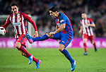 Luis Suarez of FC Barcelona in action during their Copa del Rey 2016-17 Semi-final match between FC Barcelona and Atletico de Madrid at the Camp Nou on 07 February 2017 in Barcelona, Spain. Photo by Diego Gonzalez Souto / Power Sport Images