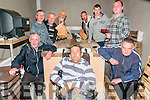 Listowel' Men's Shed : Denis  Robinson, second from left  pictured in the Listowel men's shed.