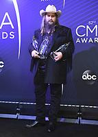 NASHVILLE, TN - NOVEMBER 14:  Chris Stapleton at the 52nd Annual CMA Awards at the Bridgetone Arena on November 14, 2018 iin Nashville, Tennessee. (Photo by Scott Kirkland/PictureGroup)