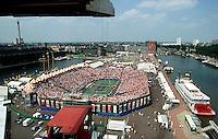 1994, Tennis,Netherlands, Rotterdam, Mullerpier, Daviscup Netherlands-USA, Overall view