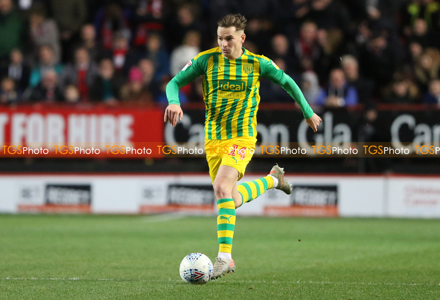 Conor Townsend of West Bromwich Albion during Charlton Athletic vs West Bromwich Albion, Sky Bet EFL Championship Football at The Valley on 11th January 2020