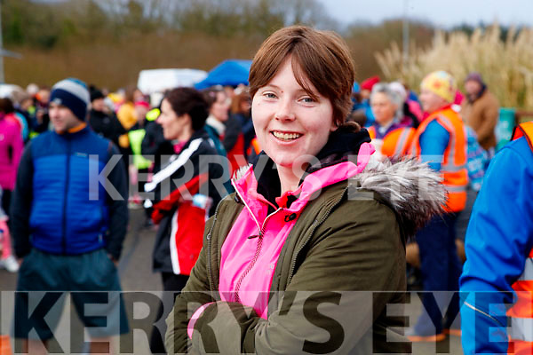 Sophie Norris, Tralee, pictured at the Operation Transformation Walk at Tralee Bay Wetlands on Saturday morning last.