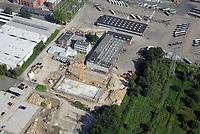 VHH Betriebsflaeche Bergedorf: EUROPA, DEUTSCHLAND, HAMBURG, BERGEDORF (EUROPE, GERMANY), 19.08.2017: Verkehrsbetriebe Hamburg-Holstein GmbH<br /> Curslacker Neuer Deich 37