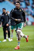 5th January 2020; Ricoh Arena, Coventry, West Midlands, England; English Premiership Rugby, Wasps versus Northampton Saints; Courtney Lawes of Northampton Saints warms-up prior to the match - Editorial Use