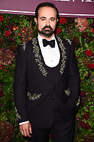 Evgeny Lebedev<br /> arriving for the Evening Standard Theatre Awards 2019, London.<br /> <br /> ©Ash Knotek  D3539 24/11/2019