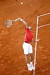 Novak Djokovic, Serbia, during Madrid Open Tennis 2016 Semifinal match.May, 7, 2016.(ALTERPHOTOS/Acero)a