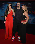 """Joey Fatone and family 069 arrives for the premiere of Sony Pictures' """"Spider-Man Far From Home"""" held at TCL Chinese Theatre on June 26, 2019 in Hollywood, California"""