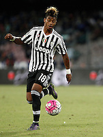 Calcio, Serie A: Napoli vs Juventus. Napoli, stadio San Paolo, 26 settembre 2015. <br /> Juventus&rsquo; Mario Lemina in action during the Italian Serie A football match between Napoli and Juventus at Naple's San Paolo stadium, 26 September 2015.<br /> UPDATE IMAGES PRESS/Isabella Bonotto<br /> <br /> *** ITALY AND GERMANY OUT ***