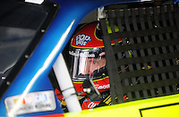 Oct. 15, 2009; Concord, NC, USA; NASCAR Sprint Cup Series driver Mark Martin during practice for the Banking 500 at Lowes Motor Speedway. Mandatory Credit: Mark J. Rebilas-