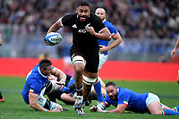 Izack Tuipulotu All Blacks<br /> <br /> Roma 24-11-2018  Stadio Olimpico,<br /> Rugby Cattolica Test Match 2018<br /> Italia vs Nuova Zealanda / Italy vs New Zealand <br /> Photo Antonietta Baldassarre / Insidefoto
