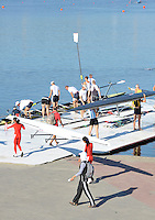 Poznan, POLAND,  GV of boating area, FISA World Rowing Championships. held on the Malta Rowing lake, {DOW [Mandatory Credit. Peter Spurrier/Intersport Images]