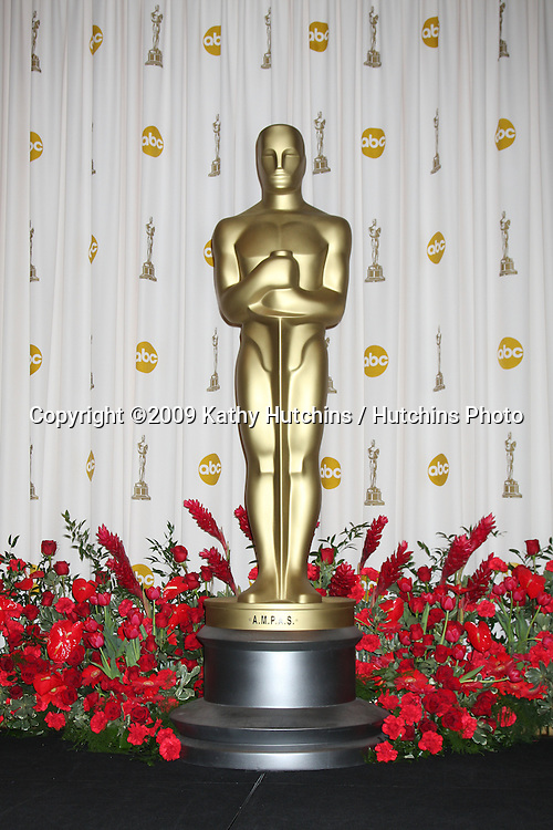 Oscar in the 81st Academy Awards Press Room at the Kodak Theater in Los Angeles, CA  on.February 22, 2009.©2009 Kathy Hutchins / Hutchins Photo...                .