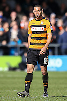 Curtis Weston of Barnet during the Sky Bet League 2 match between Barnet and Luton Town at The Hive, London, England on 28 March 2016. Photo by David Horn.