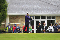 Paul Madigan (Mount Juliet) on the 1st tee during the Final round of the Irish Mixed Foursomes Leinster Final at Millicent Golf Club, Clane, Co. Kildare. 06/08/2017<br /> Picture: Golffile | Thos Caffrey<br /> <br /> <br /> All photo usage must carry mandatory copyright credit      (&copy; Golffile | Thos Caffrey)