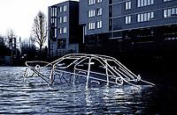 Nederland - Amsterdam- 2019  . Amsterdam Light Festival.  Surface Tension van Tom Biddulph en Barbara Ryan.   Foto Berlinda van Dam / Hollandse Hoogte