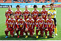 INACINAC Kobe Leonessa team group line-up,.JANUARY 1, 2012 - Football / Soccer :.INAC Kobe Leonessa team group shot (Top row - L to R) Homare Sawa, Chiaki Minamiyama, Junko Kai, Megumi Takase, Asuna Tanaka, Ayumi Kaihori, (Bottom row - L to R) Yukari Kinga, Shinobu Ono, Maiko Nasu, Ji So-Yun and Nahomi Kawasumi before the 33rd All Japan Women's Football Championship final match between INAC Kobe Leonessa 3-0 Albirex Niigata Ladies at National Stadium in Tokyo, Japan. (Photo by Takamoto Tokuhara/AFLO)