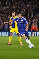 Diego Costa of Chelsea during the UEFA Champions League match between Chelsea and Maccabi Tel Aviv at Stamford Bridge, London, England on 16 September 2015. Photo by David Horn.