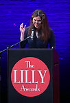 Diane Paulus on stage during the 9th Annual LILLY Awards at the Minetta Lane Theatre on May 21,2018 in New York City.
