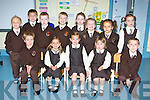 Lissivigeen NS junior infants who started school on Thursday front row l-r: Rory O'Leary, Roisin Flaherty, Keelin Bartlett, Aoibhin Kelly, Fionn O'Shea. Back row: Matthew Moynihan, Darren Lowe, Cian Russell, Liam O'Leary-Guruceaga, Faye O'Neill, Isabel O'Sullivan-Waters,Annie Rose Vogels, Alannah Holohan....