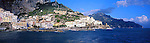 Panoramic view of Amalfi town, Amalfi Coast, Italy<br />
