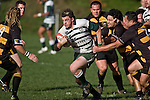 Mark Selwyn breaks through Bombay defenders. Counties Manukau Premier Club Rugby game between Bombay & Manurewa played at Bombay on Saturday June 14th 2008..Bombay won 19 - 12 after leading 12 - 0 at halftime.